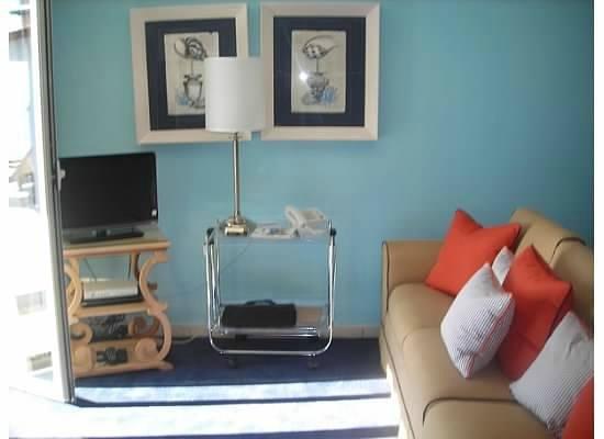 Hotel Villa Carlotta: Living room