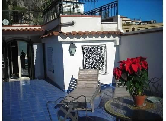 Hotel Villa Carlotta: Terrace