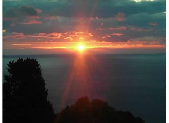 Hotel Villa Carlotta: Sunrise from the terrace