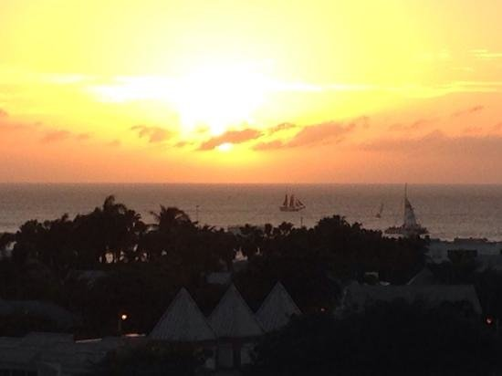 Pepe's Charters: from the La Concha Hotel at sunset