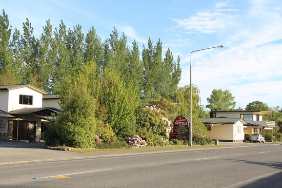 Geraldine motels: View of Motel