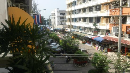 Eagle House Jomtien: view from patio