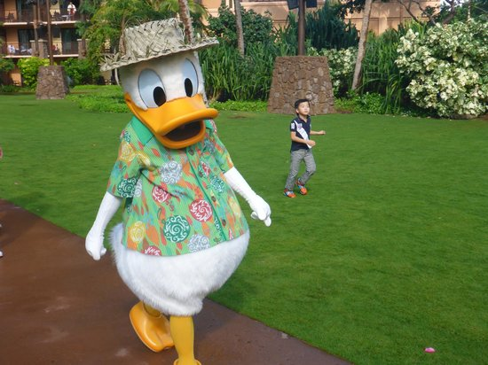 Aulani, a Disney Resort & Spa: Hawaiian Donald