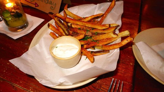 Crush Eleven: Duck fat fries