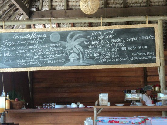Rancho do Peixe: Café da manhã no restaurante