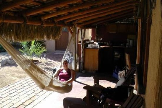 Baja Bungalows: Kitchen and seating area outside bedroom