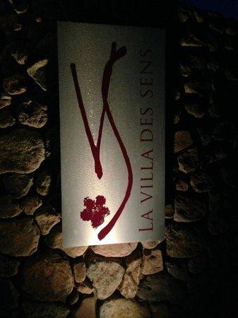 La Villa des Sens : Entrance
