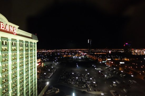 The Orleans Hotel & Casino : View from 20th floor looking north