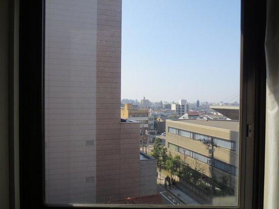 Kanazawa New Grand Hotel Annex: 窓からの眺め