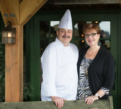 Locals Restaurant at the Old House: Owners Tricia and Ronald St. PIerre CCC