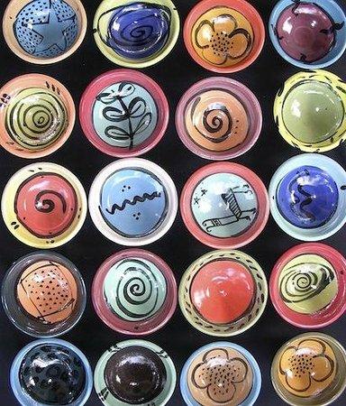 Sari Api Ceramic Studio: bowls made by sari api