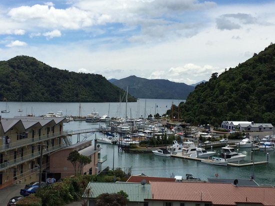Harbour View Motel Picton: View from our room