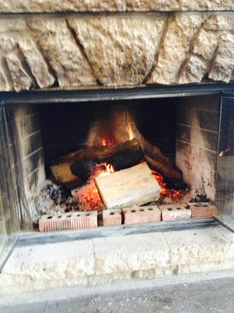 The Original Nelson Cheese Factory: Lunch by the fire to thaw my toes