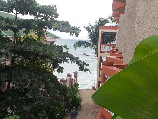 Banana Beach Resort: Vista desde nuestra habitación