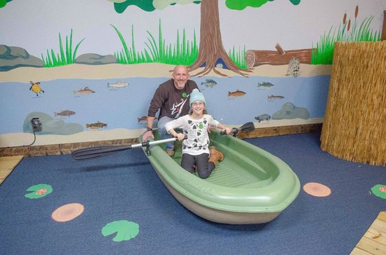 Hands On!-A Child's Gallery: Rowing a boat.