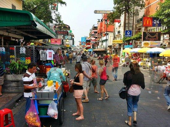Khao San Road: People watching paradise.