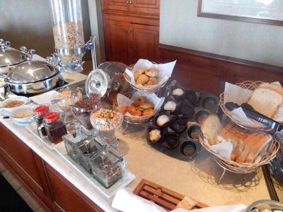 Hilton Princess Managua: Breakfast at the lounge