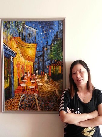 Puerta Alameda Condominium Complex: at the dining room