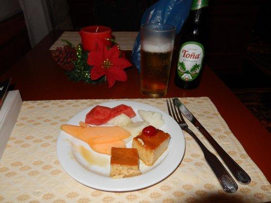 Hilton Princess Managua: Dessert at the lounge