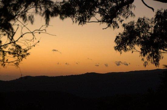 Binna Burra Mountain Lodge: Sunrise from Binna Burra