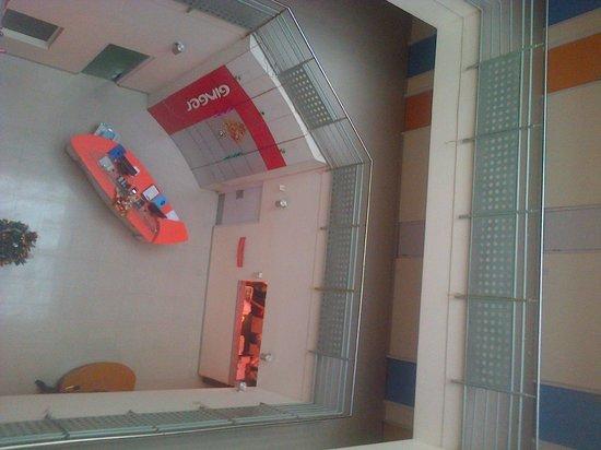 Ginger Nashik : Reception area