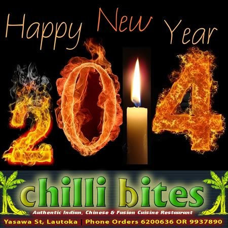 Chilli Bites: Happy New Year 2014