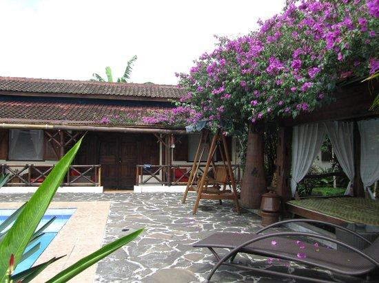 Villa Sumbing Indah: vue de notre chambre
