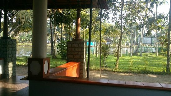 Palmgrove Lake Resort: View from Dining hall