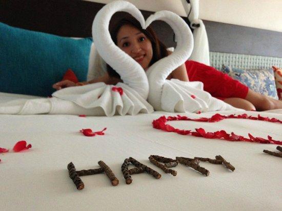 Buri Rasa Koh Phangan: the bed