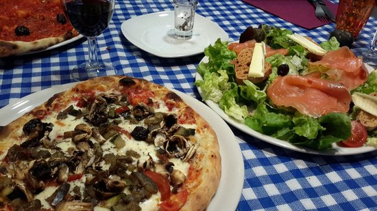 Casa Castagno : Best vegeterian pizza ever