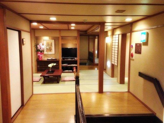 Hokkaikan Ohanabo : second floor hallway