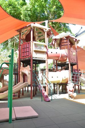 Angsana Laguna Phuket : Big playground at the kids club