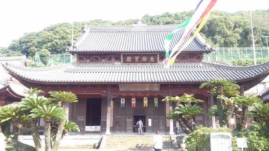 Kofukuji Temple: 唐風のお寺。