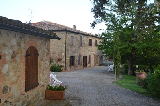 Podere Monti: The house