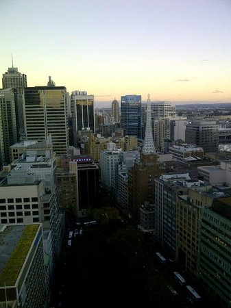 Amora Hotel Jamison Sydney: A view out my window