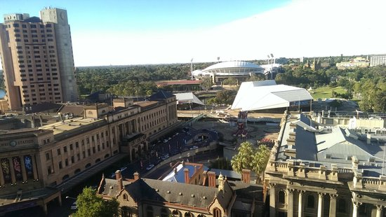 Stamford Plaza Adelaide: View from room on 12th floor
