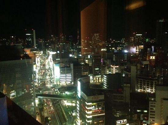 The Peninsula Tokyo: evening view from suite 2312