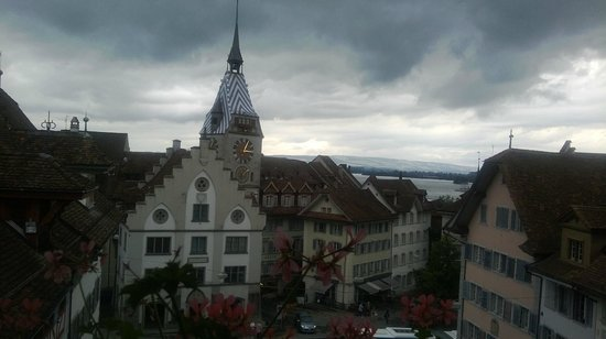 City-Hotel Ochsen Zug: View from the window