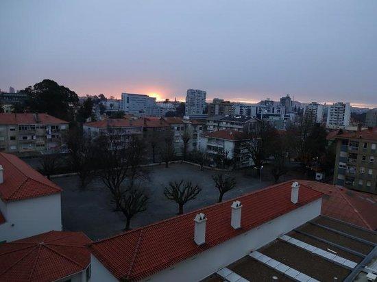 HF Tuela Porto: 窓からの風景