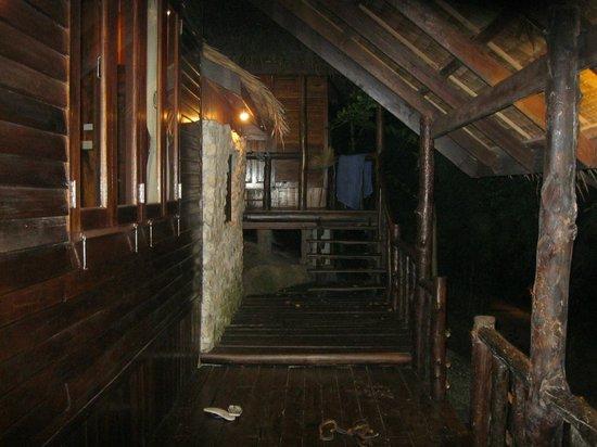 Sensi Paradise: Both of our huts