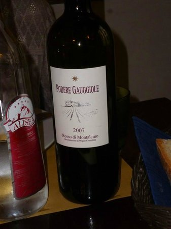 Osteria La Sosta di Violante: Il vino con cui abbiamo pasteggiato
