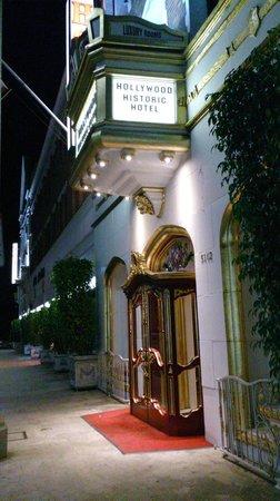Hollywood Historic Hotel : Front Door