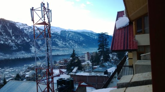 Shingar Regency: balcony view