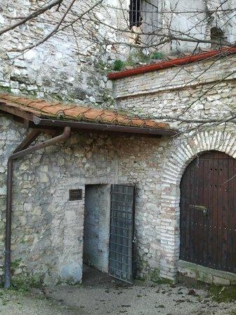Narni Sotterranea : Ingresso alla Cripta