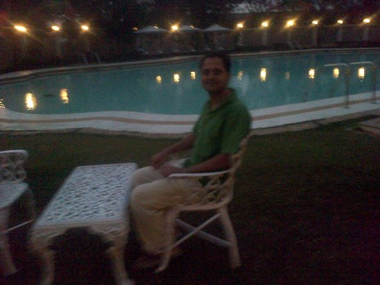 The Gateway Hotel Ambad Nashik : Me near the Swimming Pool