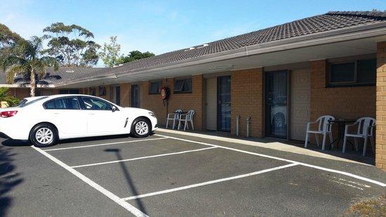 Frankston Motel: Exterior view
