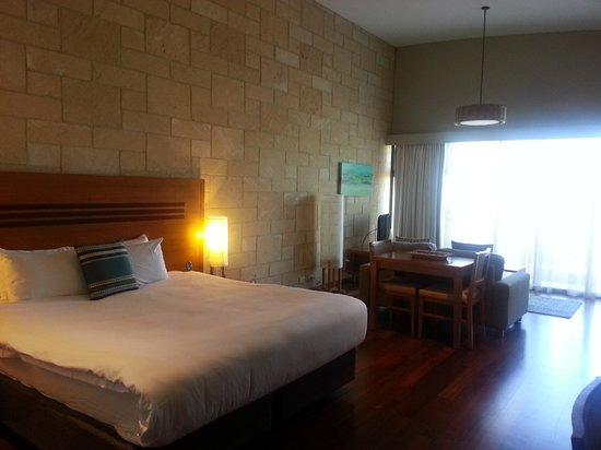 Pullman Bunker Bay Resort Margaret River Region: Our bed in a studio room