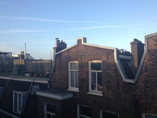 Hotel de Paris Amsterdam : Вид из окна номера