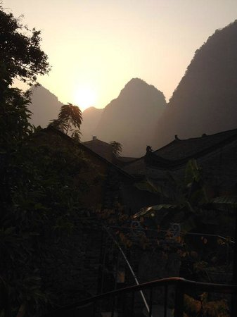 Secret Garden Boutique Hotel: Beautiful sun rise
