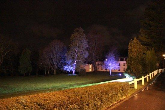 Novotel Chateau de Maffliers : L'éclairage nocturne